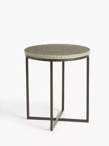 John Lewis Rayna Terazzo Side Table