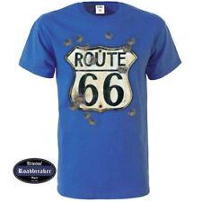 Route 66 bequem sitzende Herren-T-Shirts in normaler Größe