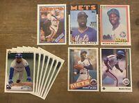 Mookie Wilson Baseball Cards