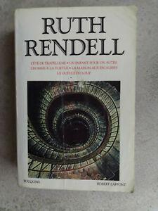 intégrale RUTH RENDELL en Bouquins Laffont 1164 pages 5 romans 1992