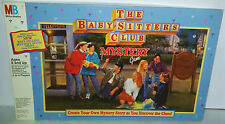 Rare THE BABYSITTERS CLUB MYSTERY BOARD GAME BY MB GAMES 1992 SEALED INSIDE