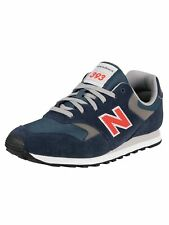 New Balance Men's 393 Suede Trainers, Blue