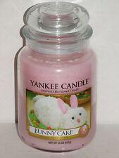 Yankee Candle Bunny Cake Large Jar Candle 22 oz Easter NEW Free Ship USA
