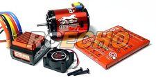 BCA1201 Chita 2590KV 13.5T Motor sin escobillas Sensored & CS60 60A ESC Combo ME640