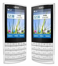 Nokia X3-02-White silver(Unlocked) Mobile Phone 3G Wifi Mobile Phone ,5MP Camera