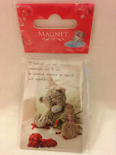 NEW ME TO YOU MAGNET BEAR SITTING REMOVING PETALS IDEAL VALENTINE GIFT BIRTHDAY
