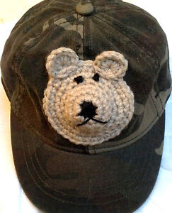 NEW GREEN CAMOUFLAGE BASEBALL CAP HAT 18 24 3T 4T BOYS INFANT TODDLER BABY