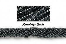 ALSB15 CZECH 11/0 Seed Beads-Transparent GREY-HANK