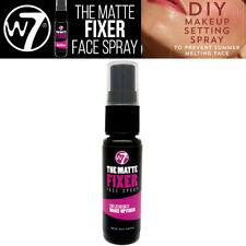 W7 Cosmetics Make up- Matte Fixer Spray - Long Lasting MakeUp Setting Face Spray