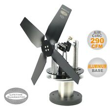STOVE TOP FAN (Heat powered STIRLING ENGINE) Wood Burner, ECO- WOODPECKER