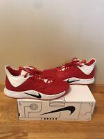 "Nike PG3 TB Promo ""Paul George"" Size 13 University Red Basketball Sneaker"