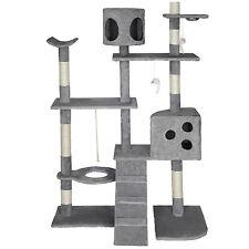 Tiragraffi per gatto XXL albero gatti gioco gichi palestra 167cm grigio