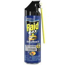 Raid Max Ant - Roach Aerosol Spray 14.50 oz (Pack of 8)