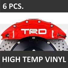 Toyota TRD #2 Premium Brake Caliper Decals Stickers Emblem Logo Corolla Camry