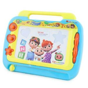 Cocomelon Magnetic Erasable Drawing Board with Stamps