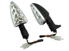 COPPIA FRECCE LED OMOLOGATE DAELIM VJF125 ROADWIN R E3 2007- INDICATORS