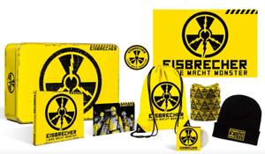 Eisbrecher - Liebe macht Monster Edle Fanbox CD Beanie Kondom Gymbag Schal NEU