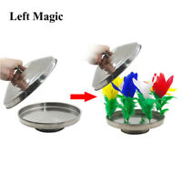 1 Set (no Pan) Fire To Flower Pan Stage Magic Tricks Illusions Magician Props