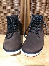Vans OTW Breton Leather Ankle Boots Mens UK 6 EU 39 US 7 Brown VERY RARE