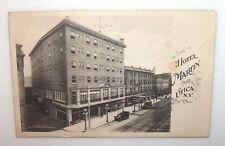 ANTIQUE POSTCARD HOTEL MARTIN UTICA N.Y. PUBL. BY FRANCES KAISER POSTMARKED 1919