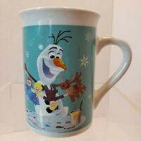 Disney Frozen Olaf Anna Elsa Mug Coffee Tea Kitchen Microwave Dishwasher Safe