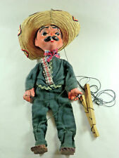 Vintage Pedro String Puppet Marionette 1960s Hecho? Mexico