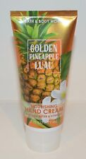 NEW BATH & BODY WORKS GOLDEN PINEAPPLE LUAU NOURISHING HAND CREAM LOTION SHEA