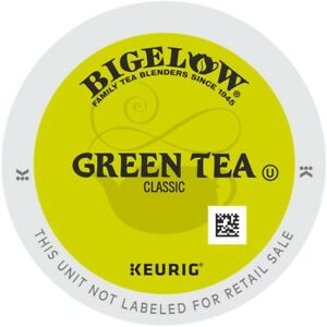 Bigelow Green Tea 24 to 144 Count Keurig K cup Pods Pick Any Size FREE SHIPPING