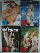 Erotik Sammlung DVD Paket 4 erotic Filme - Girlfriends + Joy in Afrika, Real Sex
