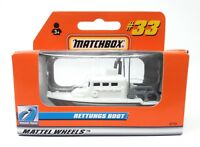 Matchbox MBX Superfast 1999 No 33 Sea Rescue Boat white German issue