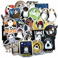 40 Porg Skateboard Stickers bomb Vinyl Laptop Luggage Decals Dope Sticker Lot