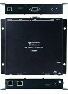 Crestron DM-TX-201-C DigitalMedia Transmitter DM Computer Center w Power Adapter