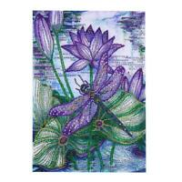 5D DIY Full Drill Special Shaped Diamond Painting Dragonfly Embroidery Kit