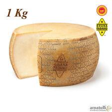 Grana Padano D.O.P 1 Kg Stück Hartkäse bester Qualität aus Italien DOP Käse