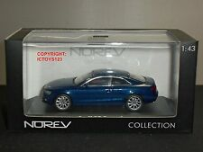 NOREV 830105 AUDI A5 COUPE 2012 SCUBA BLUE DIECAST MODEL CAR