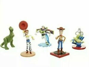 Disney Pixar Toy Story Classic Figurine Set Of 5 Woody Buzz Jessie Rex & Aliens