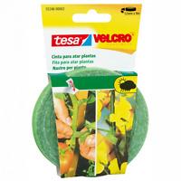 Velcro Tesa Nastro per piante alberi graticci fascetta riapribile 12mmx9m nuovo
