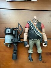 """Used NECA Team Fortress 2 Red The Heavy Action Figure, 7"""" 2012 K18"""