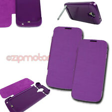 2X 3500MAH BATTERY CHARGER EXTENDED POWER CASE COVER PURPLE SAMSUNG GALAXY S IV