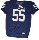 Nike Penn State Stock Vapor Varsity Mesh Jersey Men's Large Navy 908727 #55