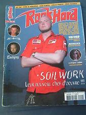ROCK HARD 2003 20 SOIL WORK HELLOWEEN EVERGREY VOIVOD METALLICA DISSECTION KANSA