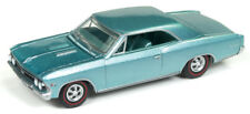 1/64 AUTO WORLD 1966 Chevrolet Chevelle SS in Artesian Turquoise