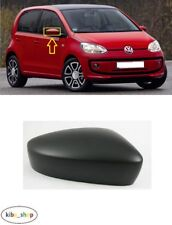 VOLKSWAGEN UP! 2012 - 2016 NEW WING MIRROR COVER CAP BLACK RIGHT O/S DRIVER