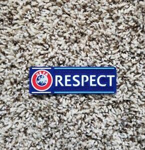 UCL UEFA Champions League Respect Patch Badge Parche Flicken La Liga
