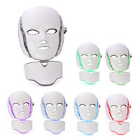 Photon 7 colors Led facial mask Therapy Wrinkle Removal Beauty Machine Skin Care