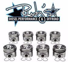 Mahle Piston & Ring Set (8) For 03-07 Ford 6.0L Powerstroke Diesel .20 Over Bore