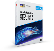 Bitdefender Internet Security 2019/18 - 3 Devices/6 Months (Activation code)