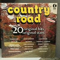 "1975 K-TEL Compilation COUNTRY ROAD - 12"" Vinyl Record LP - EX"