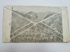 1885 Paraiso Springs Monterey CA Health Resort Baths Illustrated Bank Note Cover