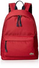 Lacoste Mens Neocroc Backpack, Rio Red